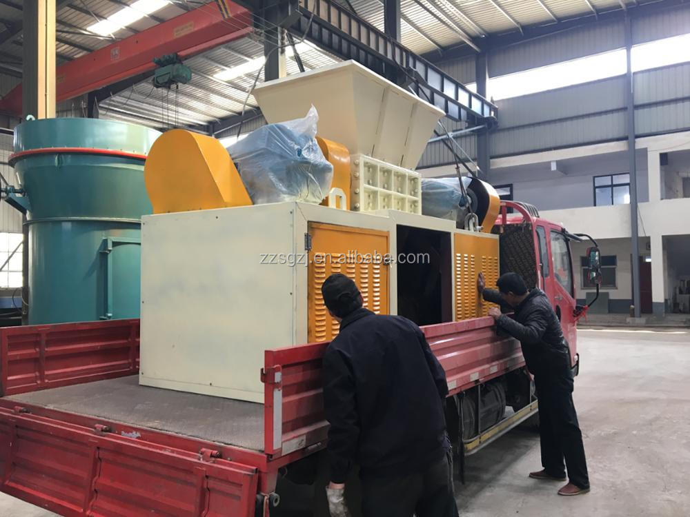 2017 china hot sale scrap used metal shredder for sale with high production