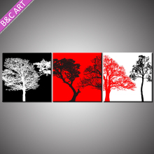Wall stickers home decortion printing service trees scene paintings