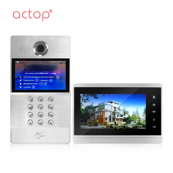 Multi Apartment Video Door Phone,Room To Room Video Intercom System