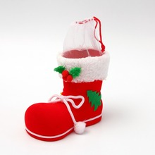 Christmas Decorations Ornaments Small Children Toy Candy Boots Old Shoe Box Gift Bags Supplies Home Decor
