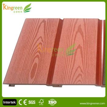Holz Vinyl Composite Wandverkleidungaußenwandumhüllung