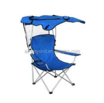 En Plein Air Chaise De Camping Pliante Avec Pare soleil Buy Chaise De Camp,Chaise Pliante Portable,Chaise De Camp Extérieure Product on