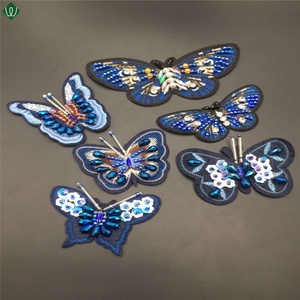 fe6d0d560 Nylon Sequin Butterfly Wholesale, Sequin Butterfly Suppliers - Alibaba