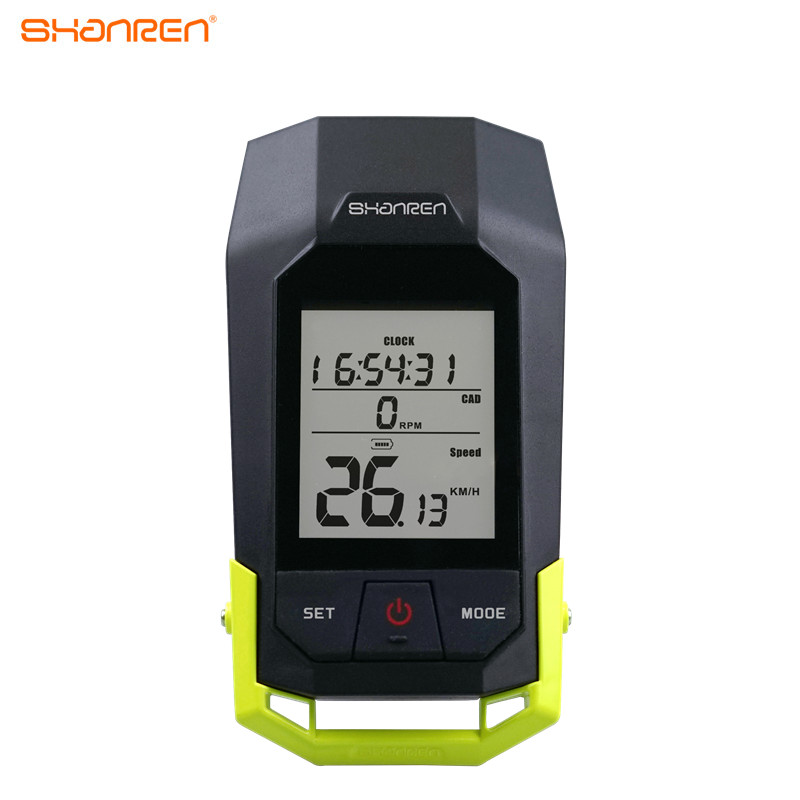 ShanRen 9 functions professional night ride 2.4G wireless bike computer high quality cycle bikes