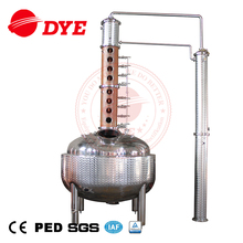 DYE 500L Industrial vodka copper column distillation equipment still