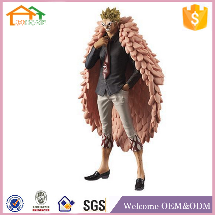 Factory Custom made best home decoration gift polyresin resin play arts kai action figure