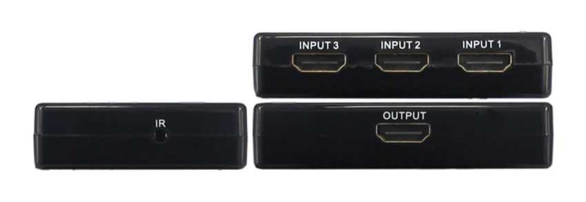 Interruptor HDMI 3x1 para reproductor de DVD Blu-ray Set top caja PlayStation3... Xbox 360