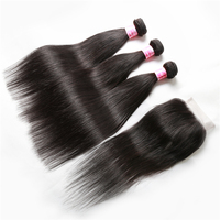 XBL 50% off raw cuticle aligned hair from india,wholesale cheap virgin hair bundles with lace closure,2018 most popular styles