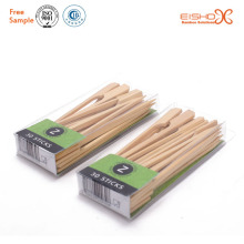 Pvc package kebab skewer bamboo skewer with custom logo