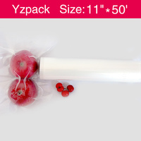Plastic,Nylon PE Material and Embossing Surface Handling commercial grade food saver vacuum sealer bag on a roll