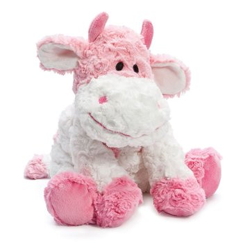 Pink Cow Stuffed Toy Cute Stuffed Cow Plush Pink Cow