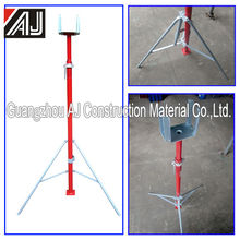 Adjustable construction post shoring