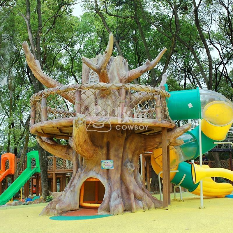 Groovy Children Treehouse Outdoor Playground Equipment Outdoor Kids Treehouse Buy Treehouse Playground For Kids Tree House Playground For Sale Outdoor Play Download Free Architecture Designs Scobabritishbridgeorg