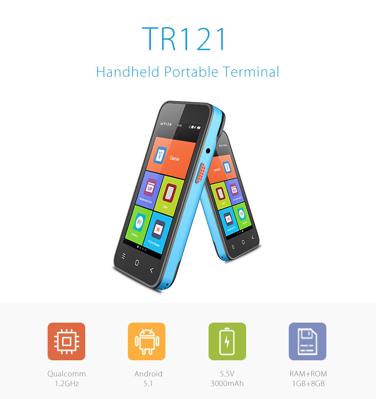 Wepoy Tr121 Pci Emv Android 5 1 Card Payment Terminals - Buy Payment  Terminals,Card Payment Terminals,Android Card Payment Terminals Product on