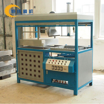 New design semi automatic plastic thermoforming machine with low price