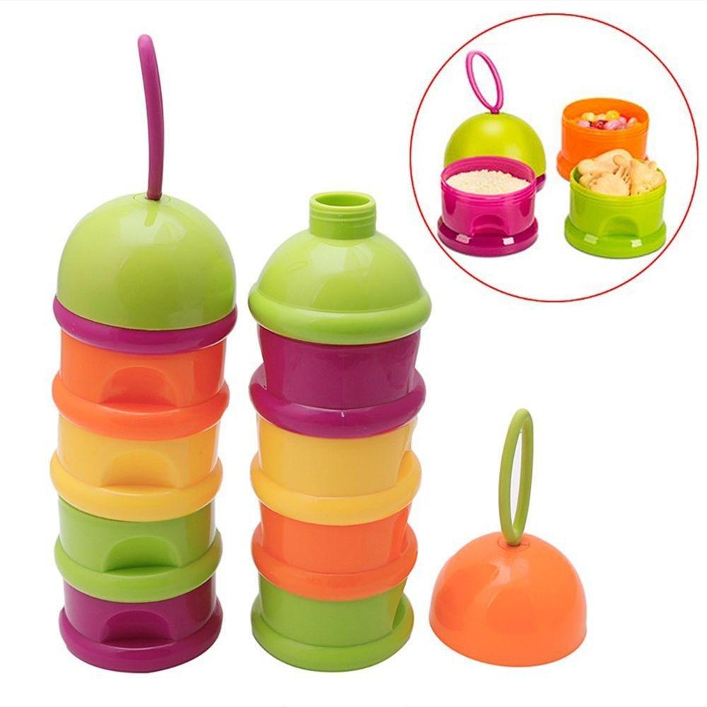 Pocktyle Random Color Kids Supplement Baby Care Formula Container Feeding Box Milk Powder Dispenser Food Storage