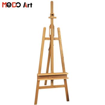 Hiqh Quality Beech Wood Large Artist Studio Easel Buy Studio Easel Artist Easel Beech Wood Easel Product On Alibaba Com