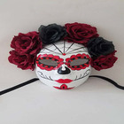 Phantom Masquerade Mask Set, Lover's Collection, Phantom of The Opera Mask Venetian Masks