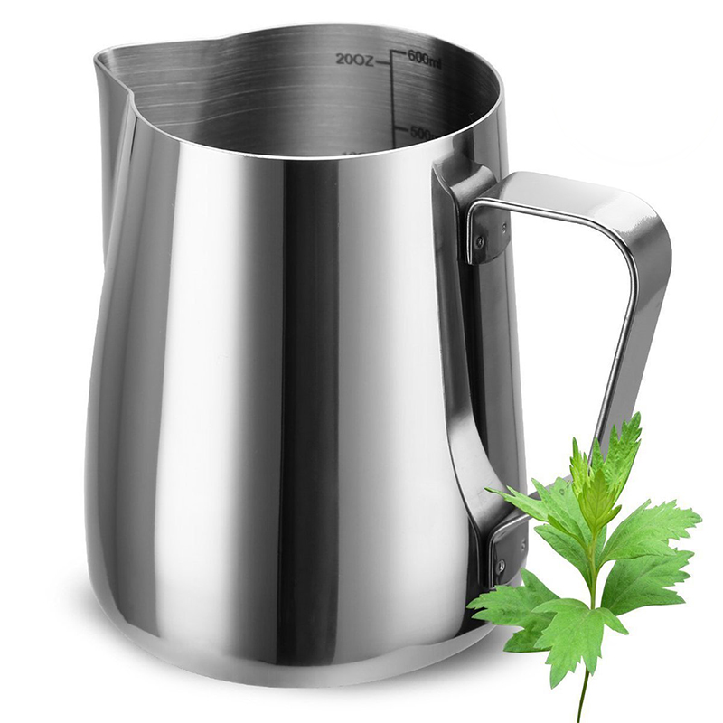 Food Grade stainless steel milk shake cup, Milk Frothing Pitcher