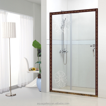 Bathroom Glass Partitions Sliding Shower Door Buy Frosted Glass
