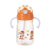 Small philippines 16oz pink pet child milk feeding bottle with straw