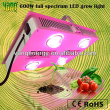 2017 Latest remote control super power led grow light,waterproof IP44 solar 600w integrated led grow light best for seeds coca