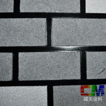 Waterborne Spray Natural Texture Stone Paint Brick Texture