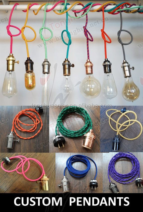 American/UK/European Plug On/off Switch Vintage pendant lighting Cable Cord Set  sc 1 st  Alibaba & American/uk/european Plug On/off Switch Vintage Pendant Lighting ... azcodes.com