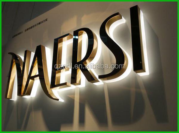 High Quality Custom Name Board Designs Shop Led Sign Buy