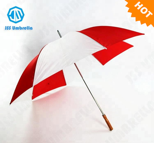 "30"" 8 rib manual open big golf double ribs umbrella cheap and high quality umbrella"