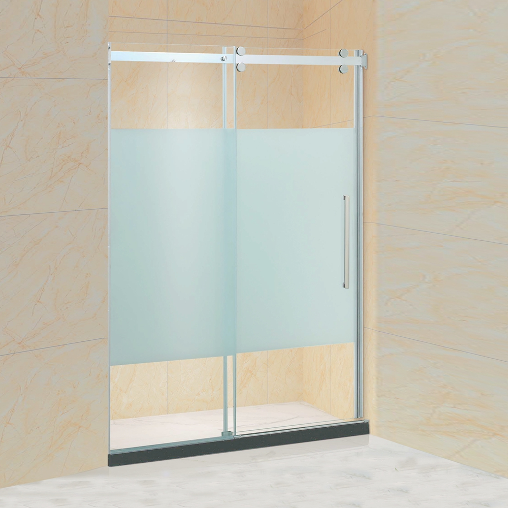 Rollers Sliding Glass Shower Screen (KD5313)