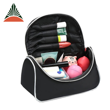 Women Custom Travel Cosmetic Organizer Makeup Bag With Mirror
