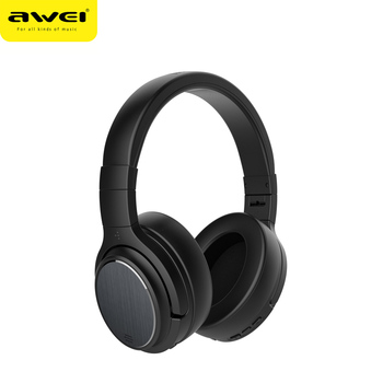 Awei New Arrival sport IPX4 blocks external noise Wireless ANC headphones