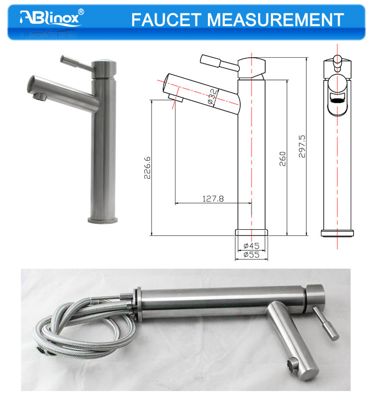 Foshan stainless steel water taps