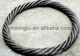 Hot sales white nylon coated steel wire cable sling