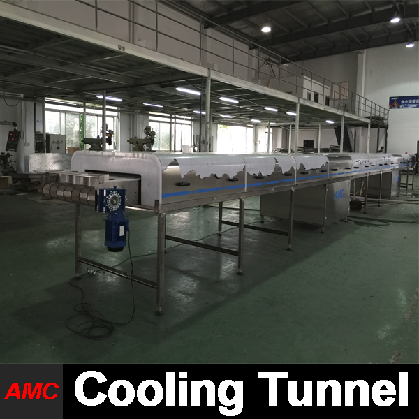 Machinery Price Stainless Steel slush machine parts With Cooling Tunnel