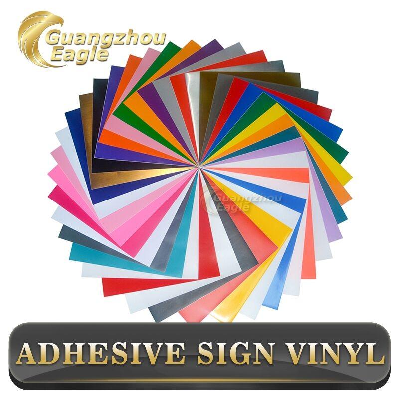 """Oracal 651 12/"""" x 12/"""" Sheet Craft Vinyl Cutters Plotters Scrapbook wall art"""