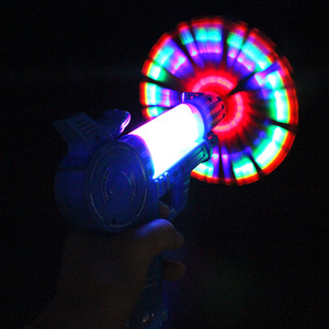 wholesale music spinning led gun toy