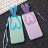 Hot Selling Colorful Cartoon Rabbit Ear Silicone Mobile Phone TPU back cover case for Iphone 6/6s