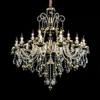 Elegant maroc style k9 crystal green chandelier for livingroom buy elegant maroc style k9 crystal green chandelier for livingroom aloadofball Images