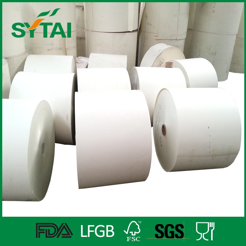 Factory wholesale food grade pe coated newsprint paper rolls