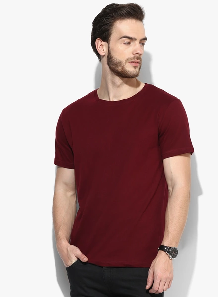 094a20b42f7e Mens streetwear clothing plain no brand basic 100% combed cotton t-shirt  online shopping China clothes