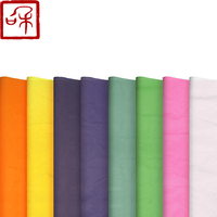 Wholesale premium colored crepe paper custom logo printed rolling cotton paper