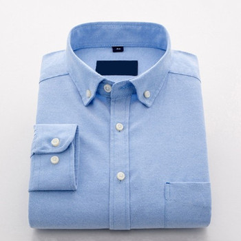 Classic button down non-iron oxford mens dress shirts