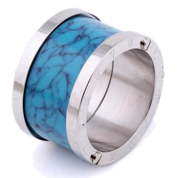 Turquoise Ring Fashion Simple Style Mens Jewelry Wedding Rings In