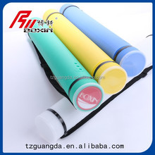 Artist plastic storage tube/drafting storage tube /art drawing PE storage tube supplier
