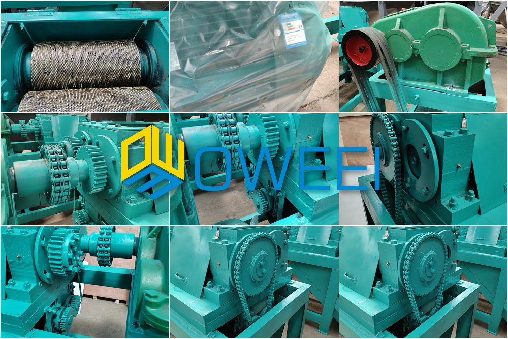 Double Roller Press Granulator machine/compound fertilizer granulating machine