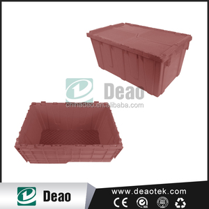 brown hollow crate/brown potato crate/good quality plastic crate