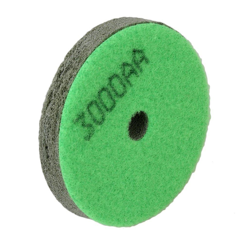 6000Grit Dusty Green Sponge Diamond Polishing Pad For Marble Stone Polisher