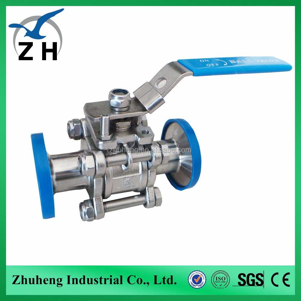 2016 hot product check ball valve stainless steel 1pc ball valve with high quanlity